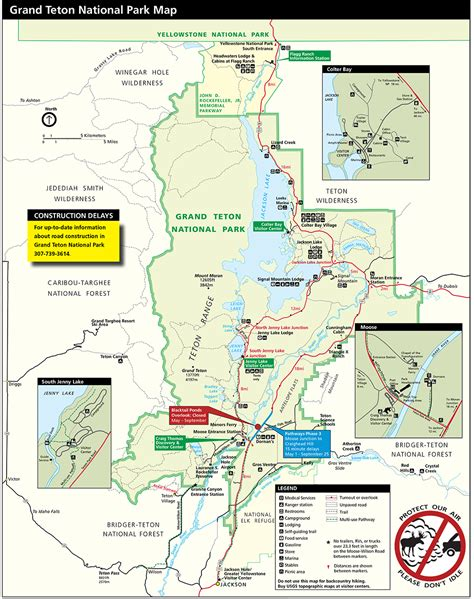 beartooth highway map yellowstone national park beartooth highway and grand