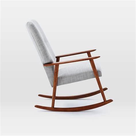 high back rocking chair high back rocking chair west elm