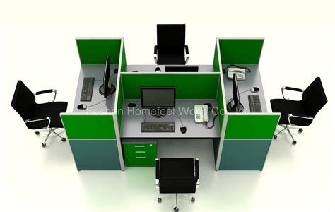 workstation table design modern office cubicles high partition modular workstation