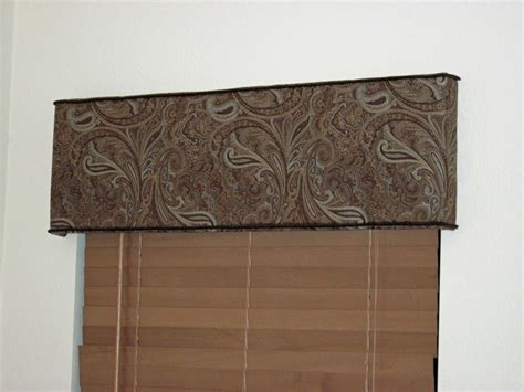 Foam Board Window Valance Messes One Project Or More At A Time Diy Easy
