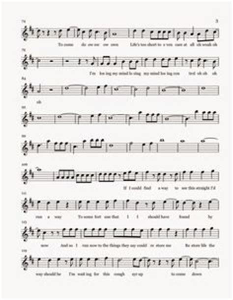 cough syrup song 1000 images about sheet music on pinterest flute sheet