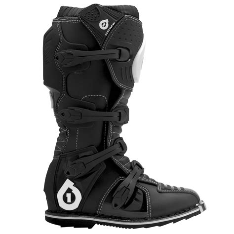 black dirt bike boots sixsixone 661 comp mx supercross dirt bike road enduro
