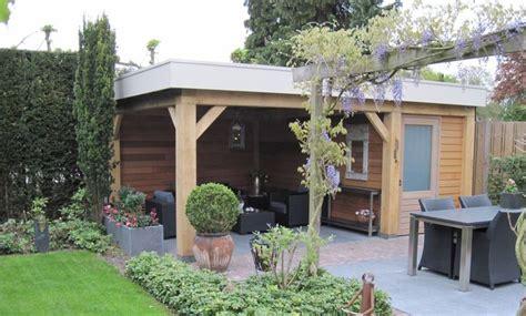 tuinhuis mandy het realiseren van een tuinhuis met overkapping