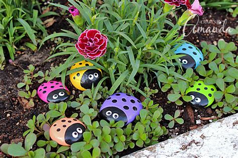 painted garden rocks ladybug painted rocks ladybug rocks for the garden