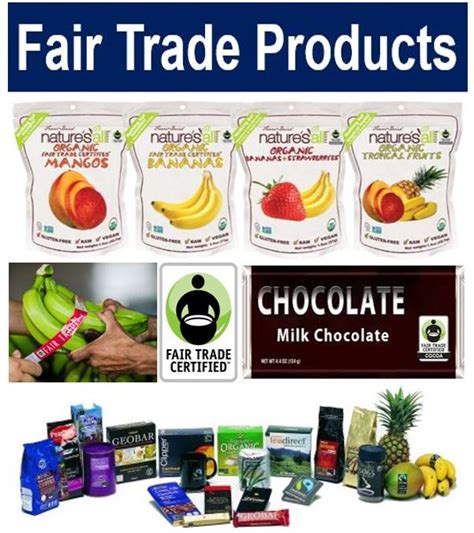 trading products what is fair trade definition and meaning uk