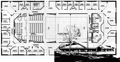 Round Floor Plans A New Generation Of Meetinghouses Ensign