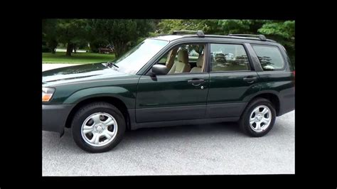 2005 subaru forester 2005 subaru forester 2 5 x all wheel drive