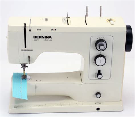Bernina 830 Sewing Machine with Case and Accessories in