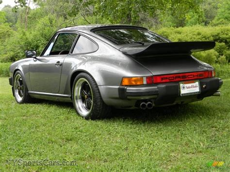 grey porsche 911 1986 porsche 911 carrera coupe in meteor grey metallic