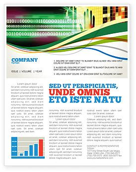 Information Security Newsletter Template For Microsoft Word Adobe Indesign 02673 Download Security Newsletter Template