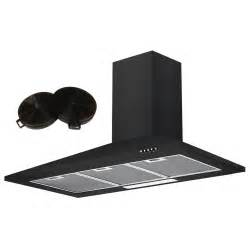 Designer Kettles And Toasters Cookology Ch100bk Extractor Black 100cm Unbranded
