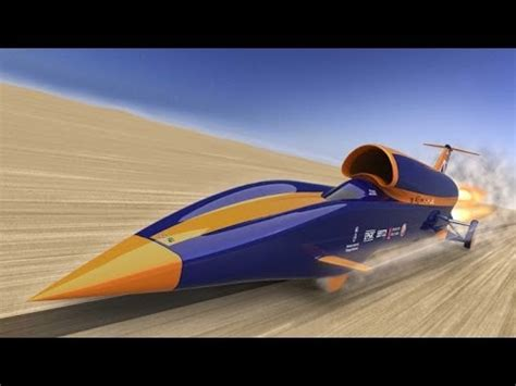 Das Schnellste Auto Der Welt 2015 Videos by The Bloodhound Ssc Would Break The Record To Be The