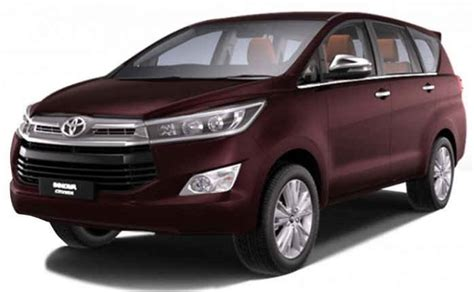 toyota innova price in india top model toyota innova crysta 2 4l g mt model price in india specs