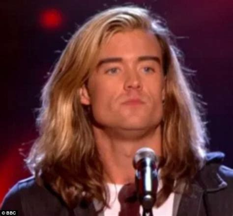 the vioce uk male contestants with long hair the voice s rick snowdon sends twitter into a frenzy after