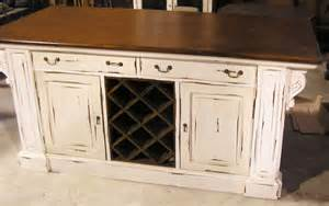 kitchen island with wine rack white distressed finish ebay rustic onpointwooddesign etsy