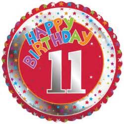 18 happy birthday 11 foil balloon balloons uk