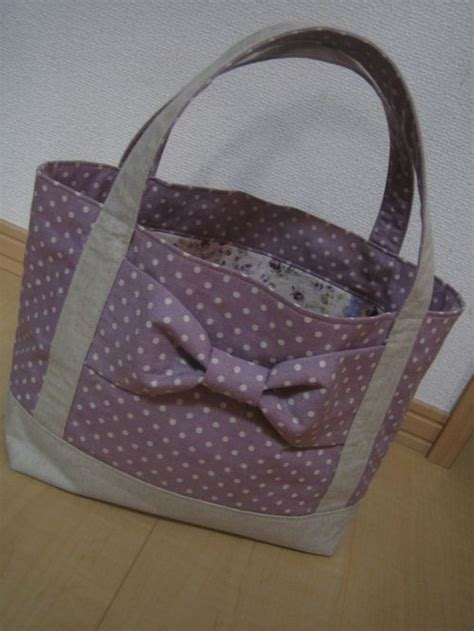 tutorial tote bag with lining tutorial lined tote bag with a big bow japanese diy