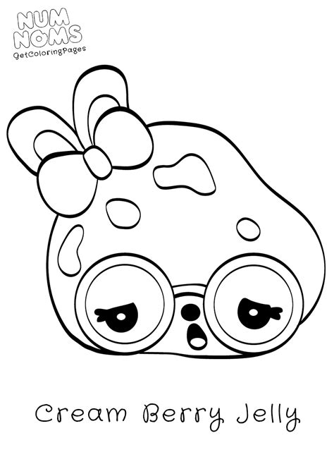Num Noms Coloring Pages To Print Coloring Pages Coloring Pages Num Noms