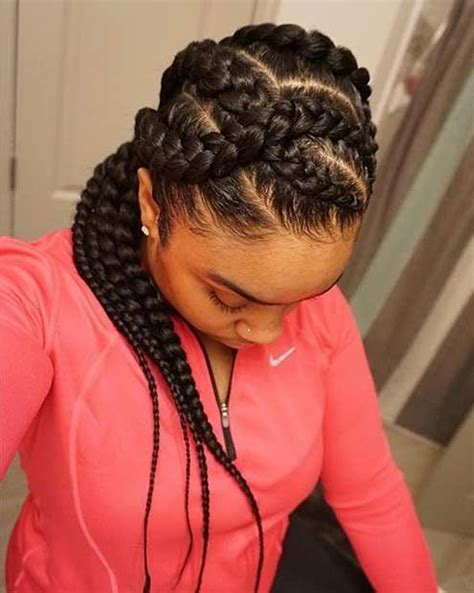 goddess braids for white women 40 super hot big braids styles