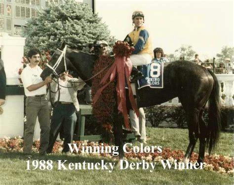 winning colors winning colors 1988 kentucky derby winner jockey gary