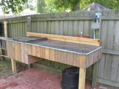 granite river outdoors fillet station table diy fish cleaning station not your s fish