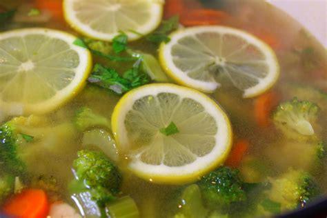 Detox With Lemon Basil by Lemon Basil Chicken Detox Soup Forks N Flip Flops