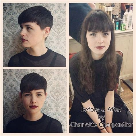 haircut before and after tumblr 272 best hairstyles images on pinterest