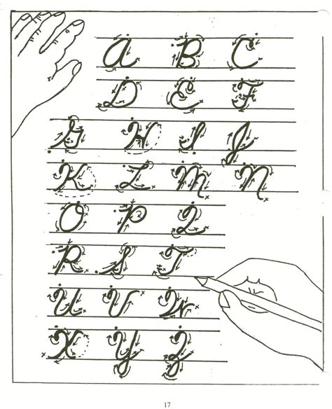 Writing Cursive Letters Worksheets by Calligraphy Alphabet Cursive Calligraphy Alphabet