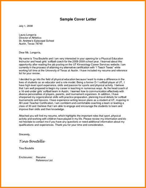 Cover Letter Exles Education by 10 Cover Letter Dear Ms Reporter Resumes