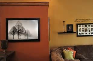 Wall Color Ideas by Wall Color Orange Interior Design Ideas