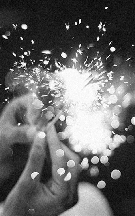 white new year sparkler ulovely happy fireworks and