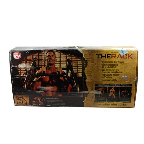 The Rack Workout Station by The Rack All In One Workout Station Opened Box Ebay