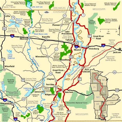 louisiana byways map great river road great river road in louisiana