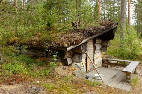 Berm House Plans photo under ground shack hobbit house with a grass roof