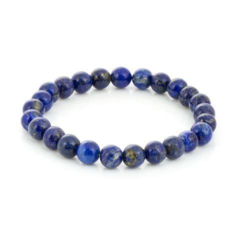 lapis bead bracelet lapis bead 7 189 inch stretch bracelet 1 pc