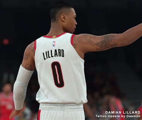 damian lillard tattoo nlsc forum downloads damian lillard