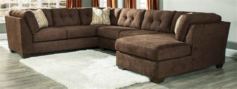 ashley furniture brown leather sectional ashley leather sectional soho red tufted bonded leather