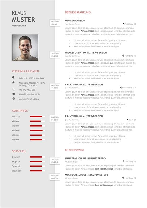 Lebenslauf Kurzprofil Beispiel Premium Bewerbungsmuster 1 Lebenslaufdesigns De