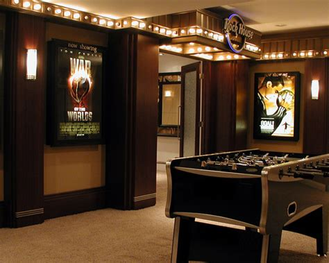 movie decor for the home arcade room home design ideas pictures remodel and decor