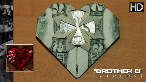 Money Origami With Quarter - origami dollar bill quarter doovi