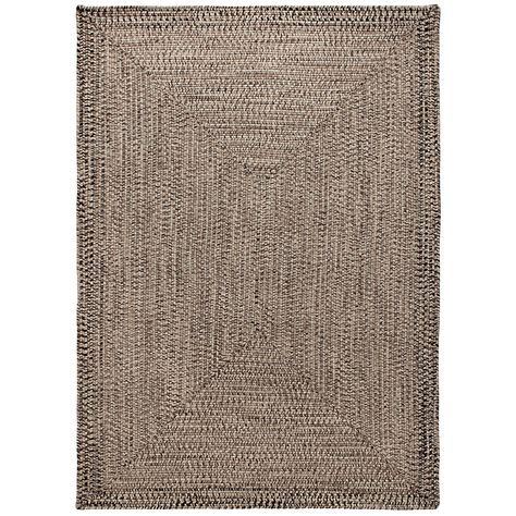 Outdoor Rugs 8x10 Colonial Mills Braided Indoor Outdoor Area Rug 8x10 Rustic Tweed Save 70