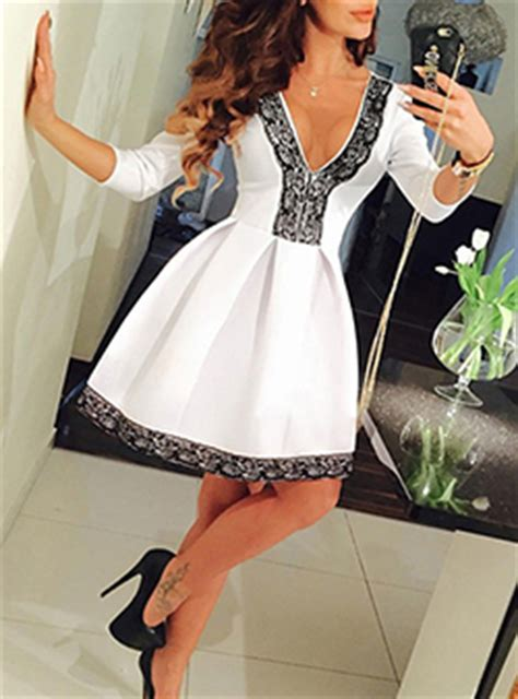 Cotton On Lace Flared Backless Dress Lace Dresses Cheap Price