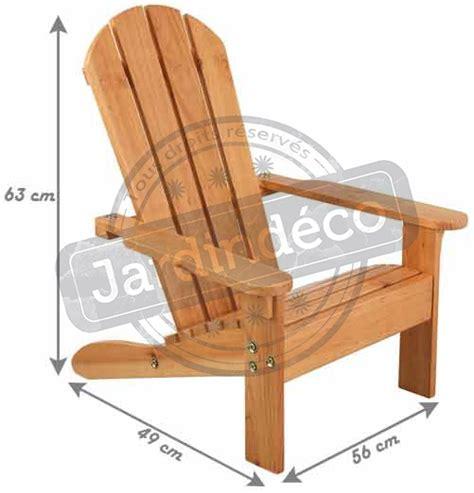 chaise en bois enfant chaise de jardin enfant en bois adirondack