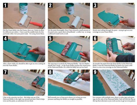 chalk paint roller 18 best images about sloan chalk paint tutorials by