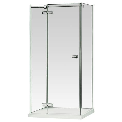 Bathroom Wall Panels Bunnings by Shower Screen Frameless 1200x900x1900mm Hinged Bunnings Warehouse Bathrooms