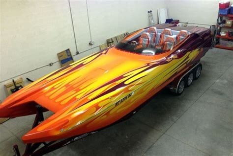 flats boats for sale daytona eliminator boats 28 footer breaks 170 mph mark boats