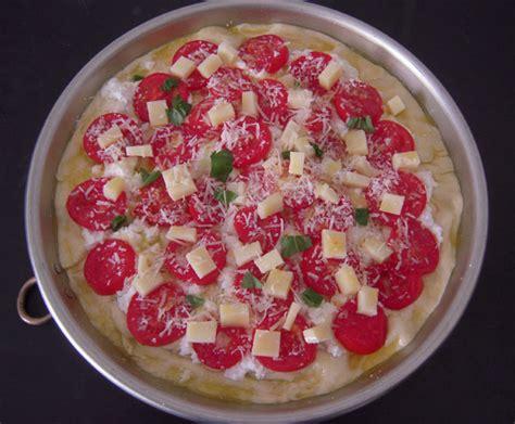 cuisine sicilienne traditionnelle pizza rustica maison sicilienne