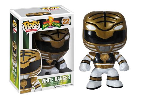 Funko Pop Original Power Rangers White Ranger Limited Edition funko to release new power rangers pop vinyl figures
