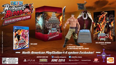 One Burning Blood Marineford Collectors Edition One Burning Blood Marineford Edition For