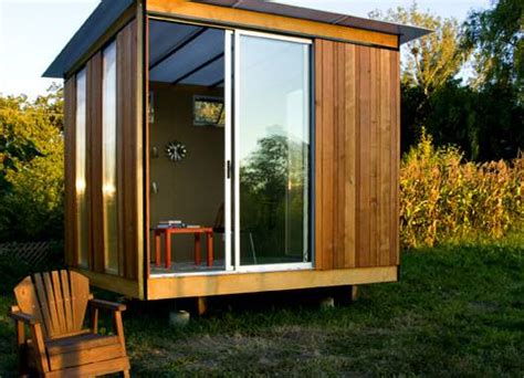 Modern Prefab Shed by Relaxshax S Tiny Cabins Houses Shacks Homes Shanties Small Livin Thrift